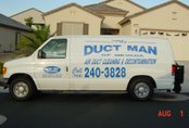 The Duct Man of Nevada service van